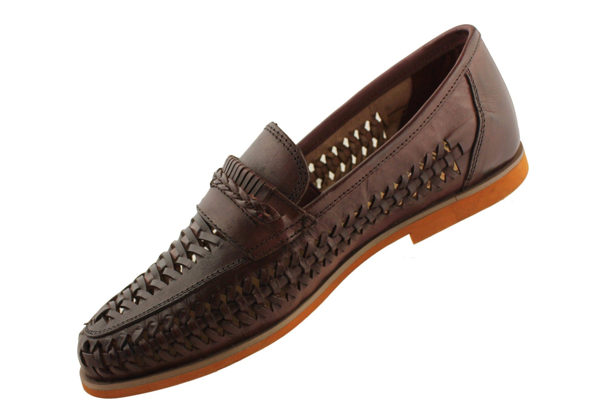 Julius Marlow Palm Mens Leather Slip Ons