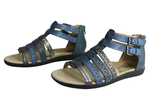 b8551910dfd Planet Shoes Belgian Womens Comfy Leather Supportive Gladiator Sandals