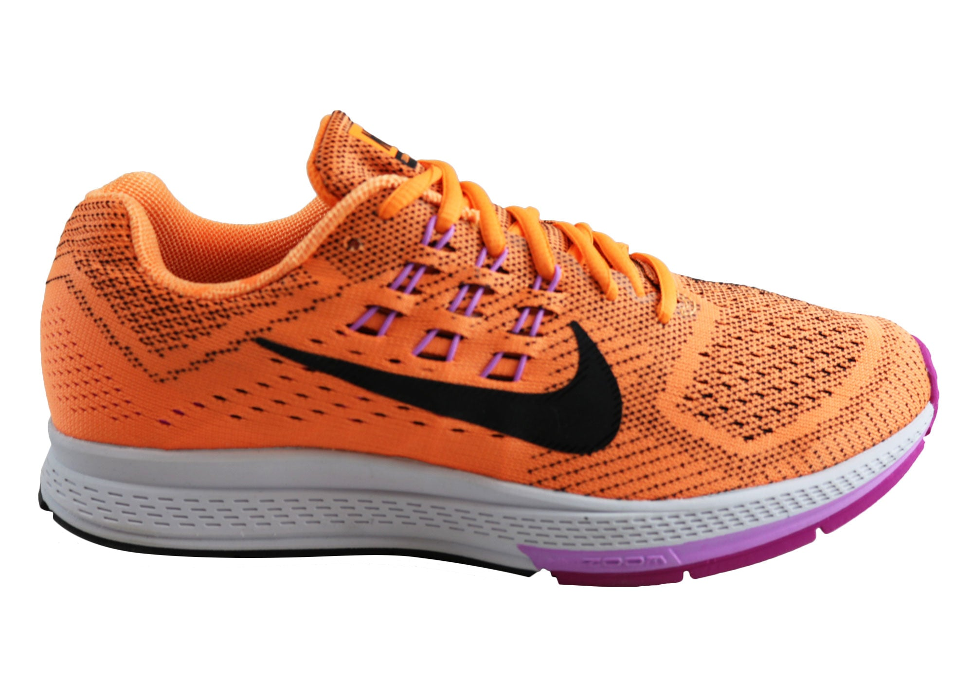 e7eb37cb442a Nike Air Zoom Structure 18 Womens Premium Cushioned Running Shoes ...