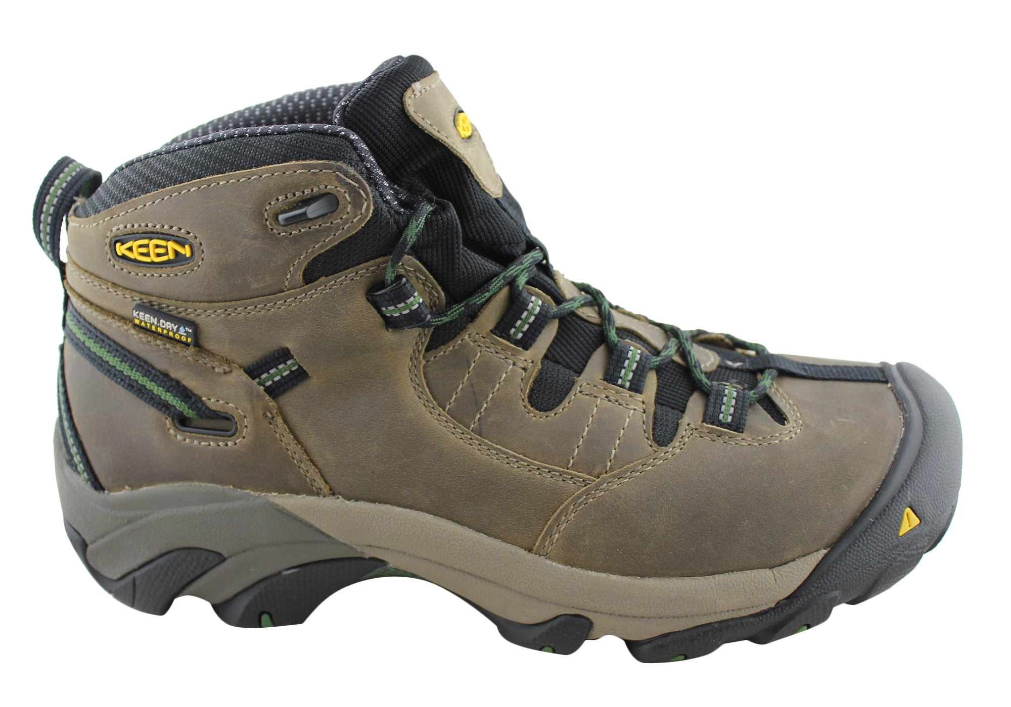 Scarpe casual da Mid uomo  New Keen Detroit Mid da uomos Steel Toe Lace Up Wide Fit Boots 571d81