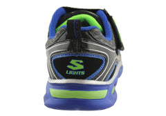Skechers Kids Boys S Lights Ipox Sneakers