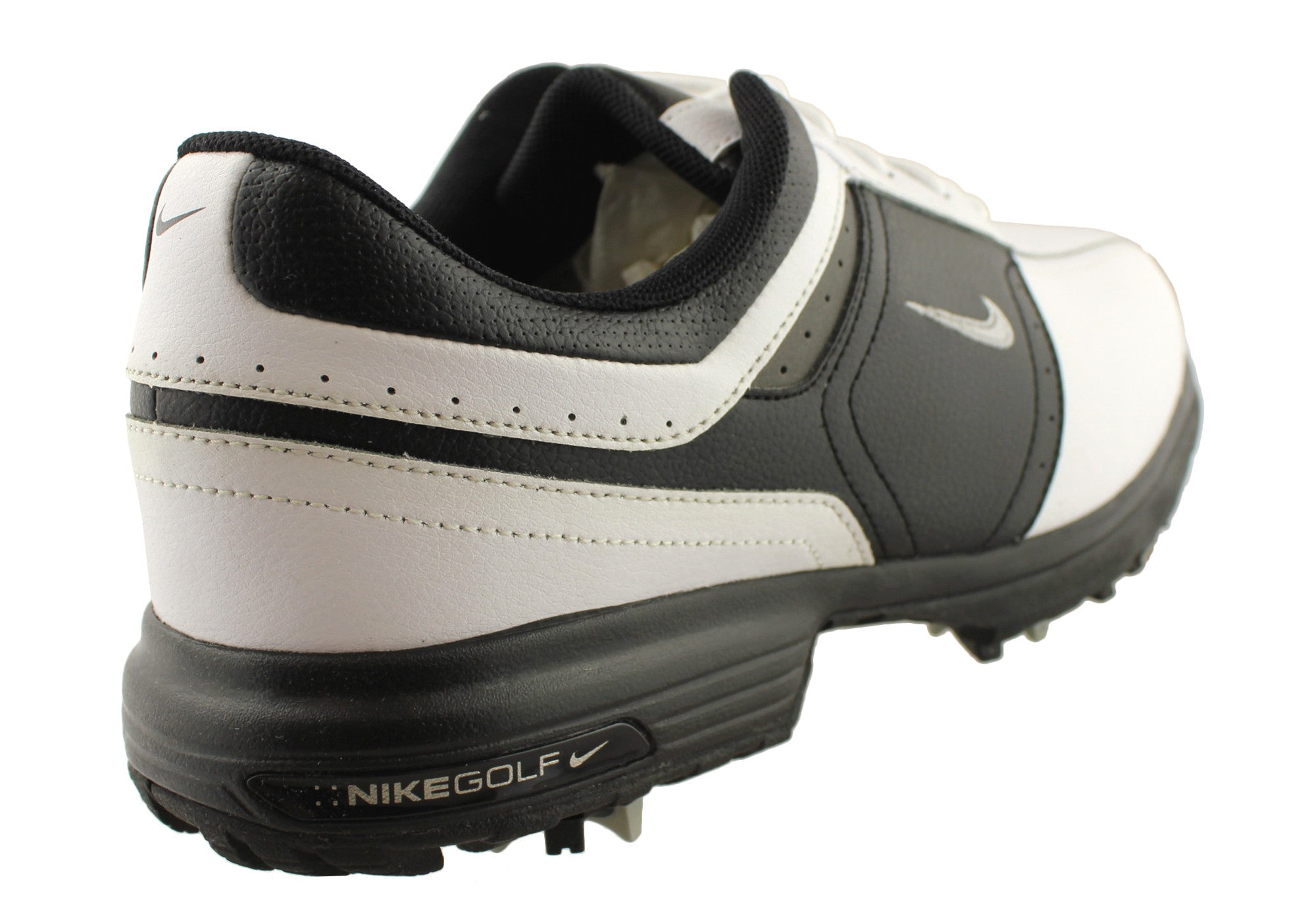 Nike Vintage Saddle Mens Leather Golf Shoes Brand House