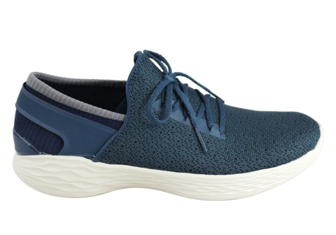 Skechers You Womens Inspire Comfortable Casual Slip On Shoes