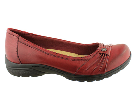 Planet Shoes Felice Womens Leather Comfortable Flats