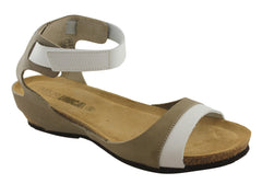 Vita Unica Womens Leather Comfort Sandals Made In Spain