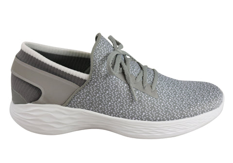 3ffe081db60 Skechers You Womens Inspire Comfortable Casual Slip On Shoes