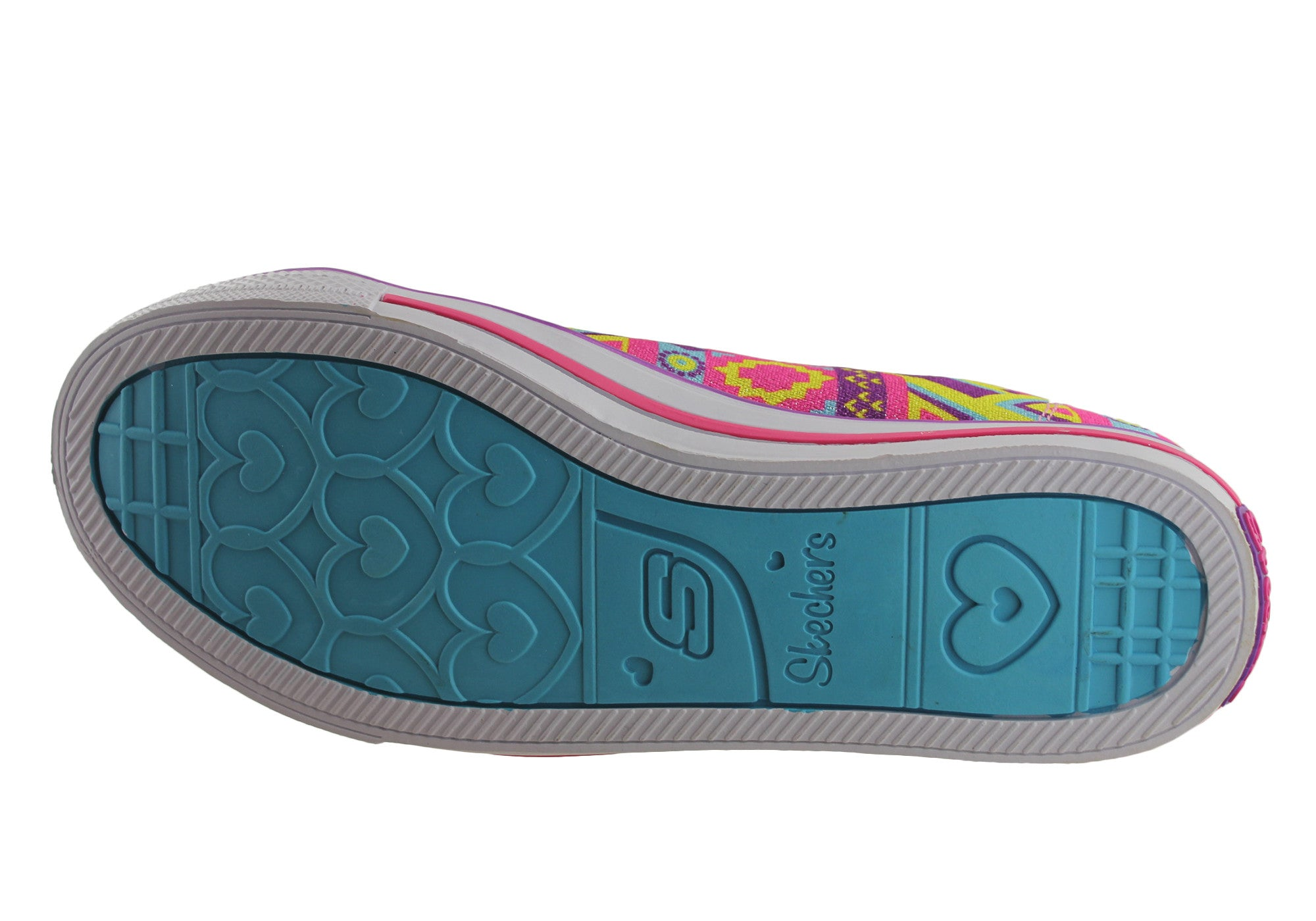 Skechers S Lights Chit Chat Slipon light Up Kids Shoes