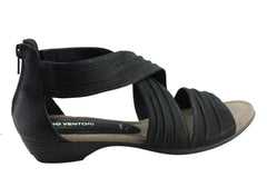 Gino Ventori Rumba Womens Comfortable Leather Sandals