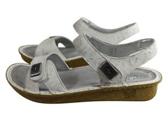 Alegria Vienna Womens Comfortable Leather Adjustable Straps Sandals