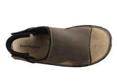 Hush Puppies Wake Mens Comfortable Leather Sandals