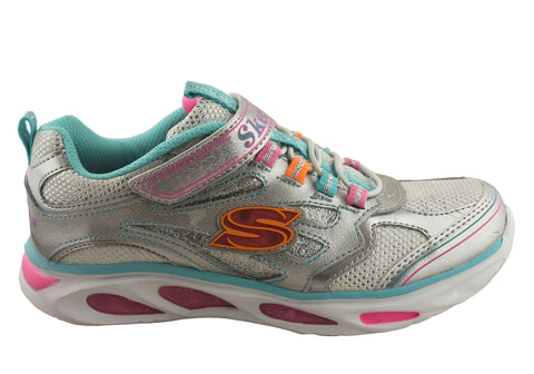 Skechers S Lights Blissful Girls Light Up Sneakers