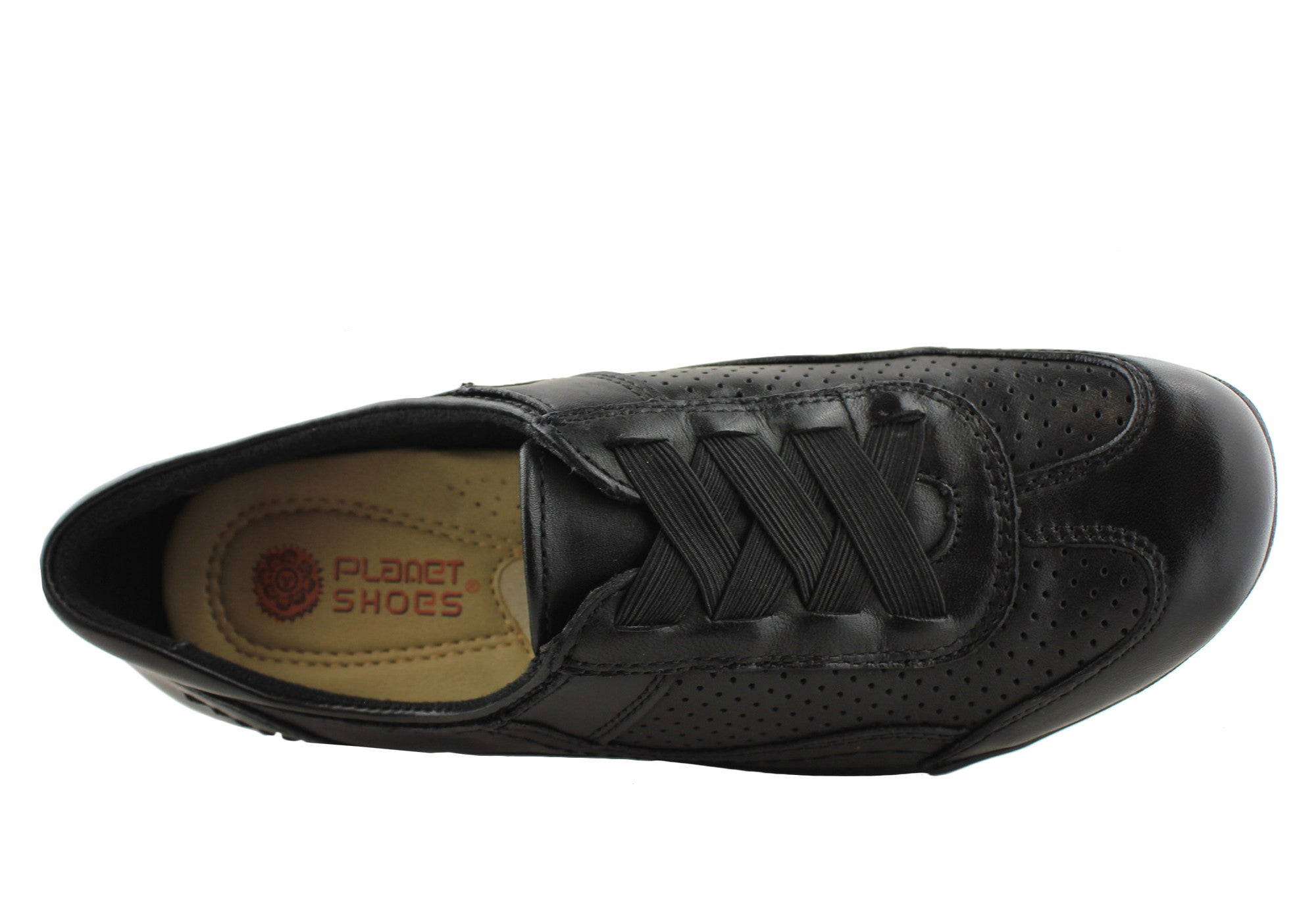 Planet Shoes Skete Womens Leather Comfortable Flats
