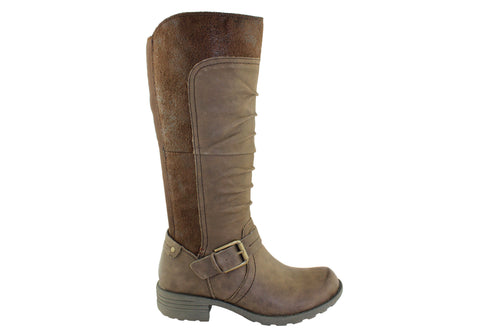 Planet Shoes Gable Womens Comfortable Knee High Boots