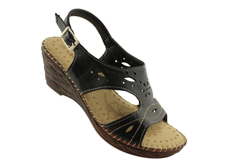 Kalinya Porter Womens Wedges Sandals