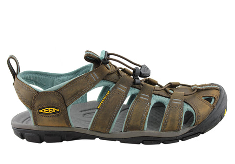 Keen Clearwater CNX Leather Womens Comfortable Sandals