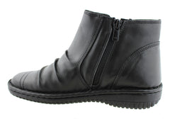 Cabello Comfort Womens Leather Ankle Boots