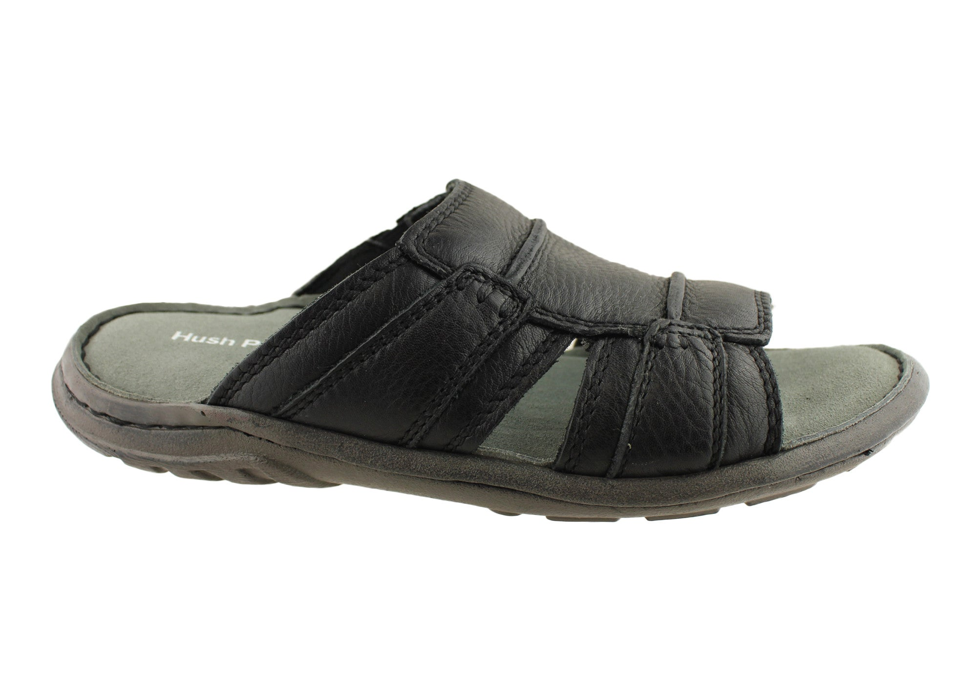 Hush Puppies Actual Mens Leather Sandals Brand House Direct