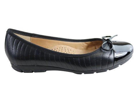 Gino Ventori Deanna Womens Comfortable Leather Flats Made In Brazil