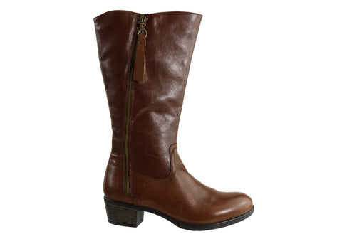 Natural Comfort Harriet Womens Leather Mid Calf Boots
