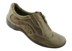 Planet Shoes Sport Womens Leather Zip Casuals
