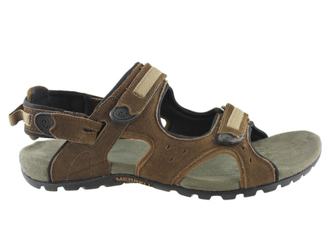 Merrell Camer Convertible Mens Leather Sandals