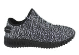 Sunsports James Mens Woven Knit Breathable Sneakers