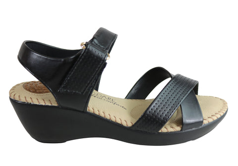 Modare Ultraconforto Visit Womens Comfort Wedge Sandals Made In Brazil