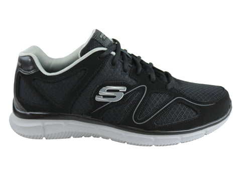 Skechers Mens Verse Flash Point Wide Fitting Memory Foam Sport Shoes