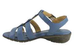 Cabello 3326 Womens Comfort Leather Sandals Made In Turkey