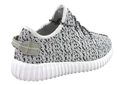 Sunsports Grove Womens Woven Knit Breathable Sneakers