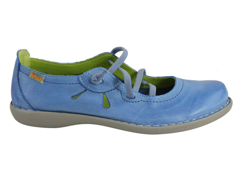 Jungla 5120 Womens Soft Leather Comfortable Shoes Made In Spain