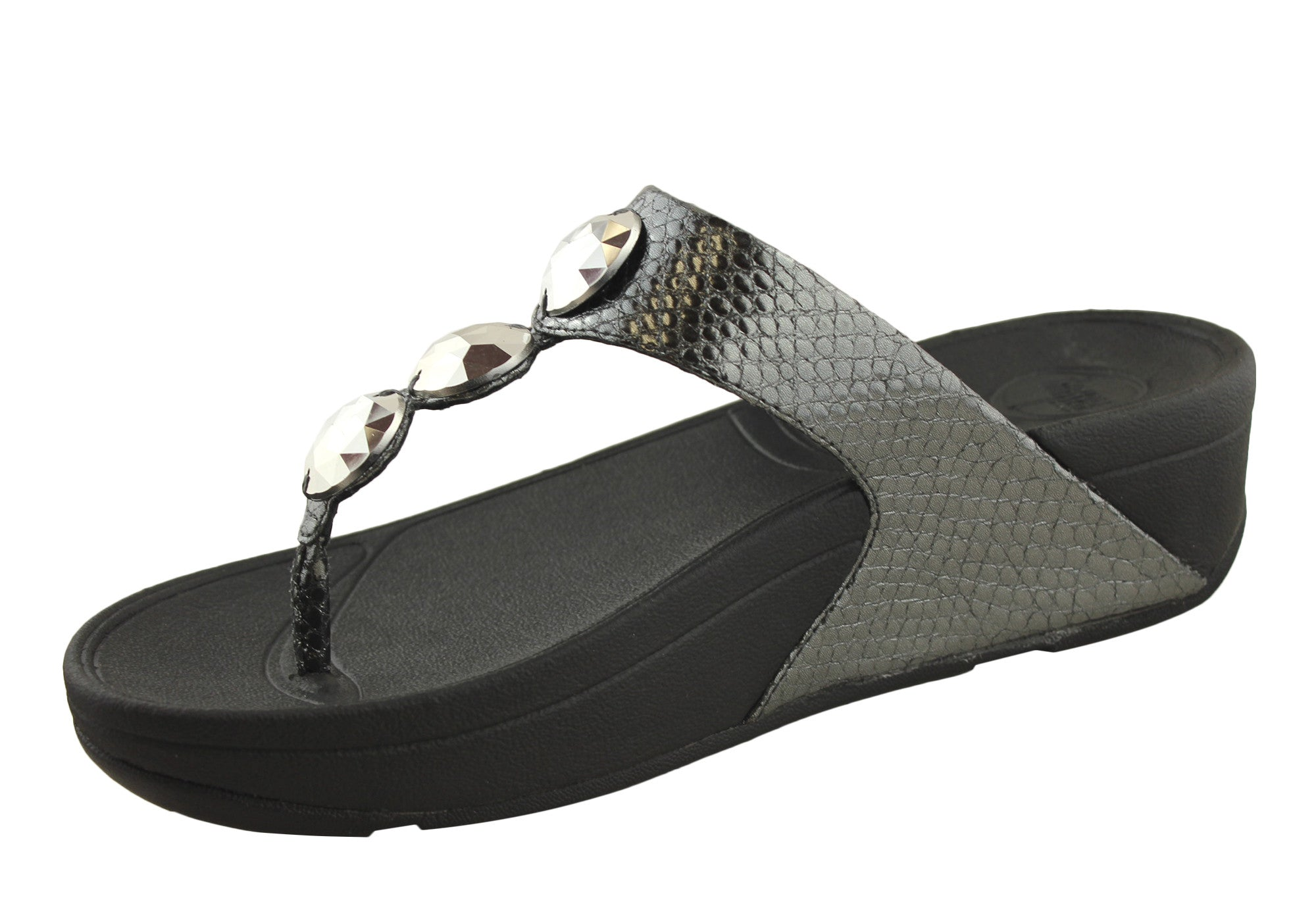 FitFlop Petra Womens Comfort Thong Sandals