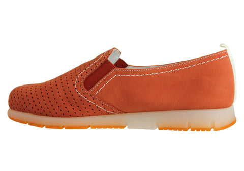 Aerobics Friend Womens Hand Made In Portugal Leather Shoes