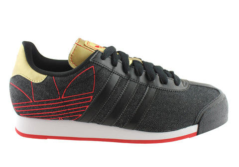 Adidas Samoa Mens Lace Up Comfortable Trainers/Sport Shoes
