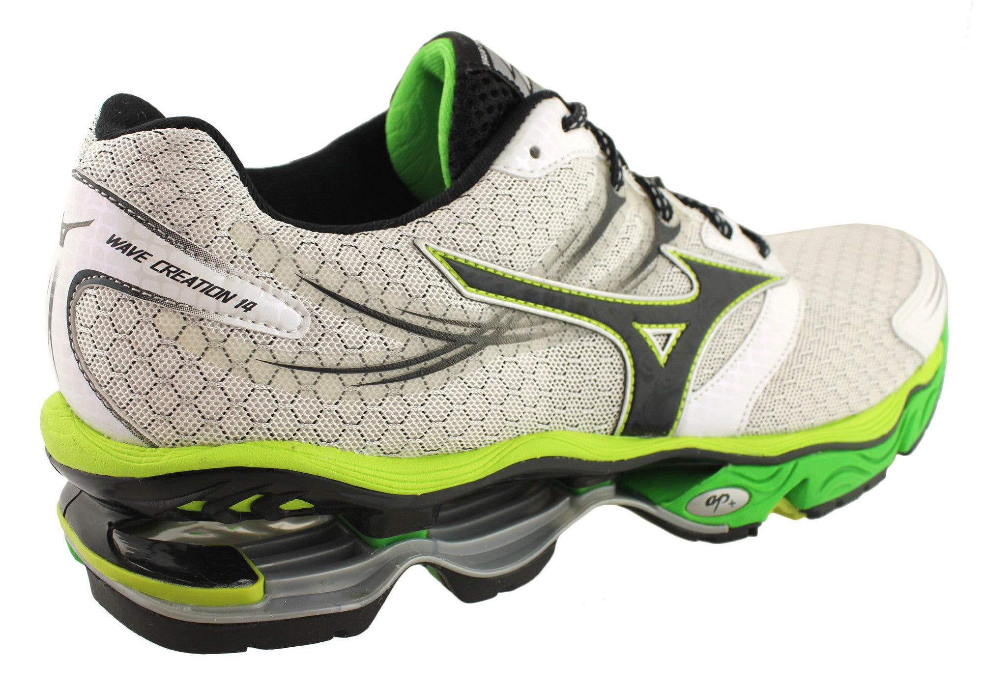 Mizuno Wave Creation 14 Mens Premium Cushioned Running Shoes