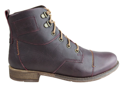 Josef Seibel Sienna 17 Womens Comfort Leather Ankle Boots