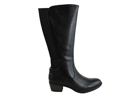 Natural Comfort Laurie Womens Comfort Leather Knee High Boots