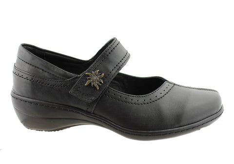 Cabello Comfort Womens Leather Mary Jane Shoes