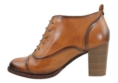 Pikolinos Kenora Womens Leather Ankle Booties