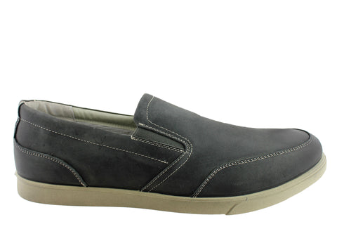 Hush Puppies Vital Mens Leather Slip On Shoes