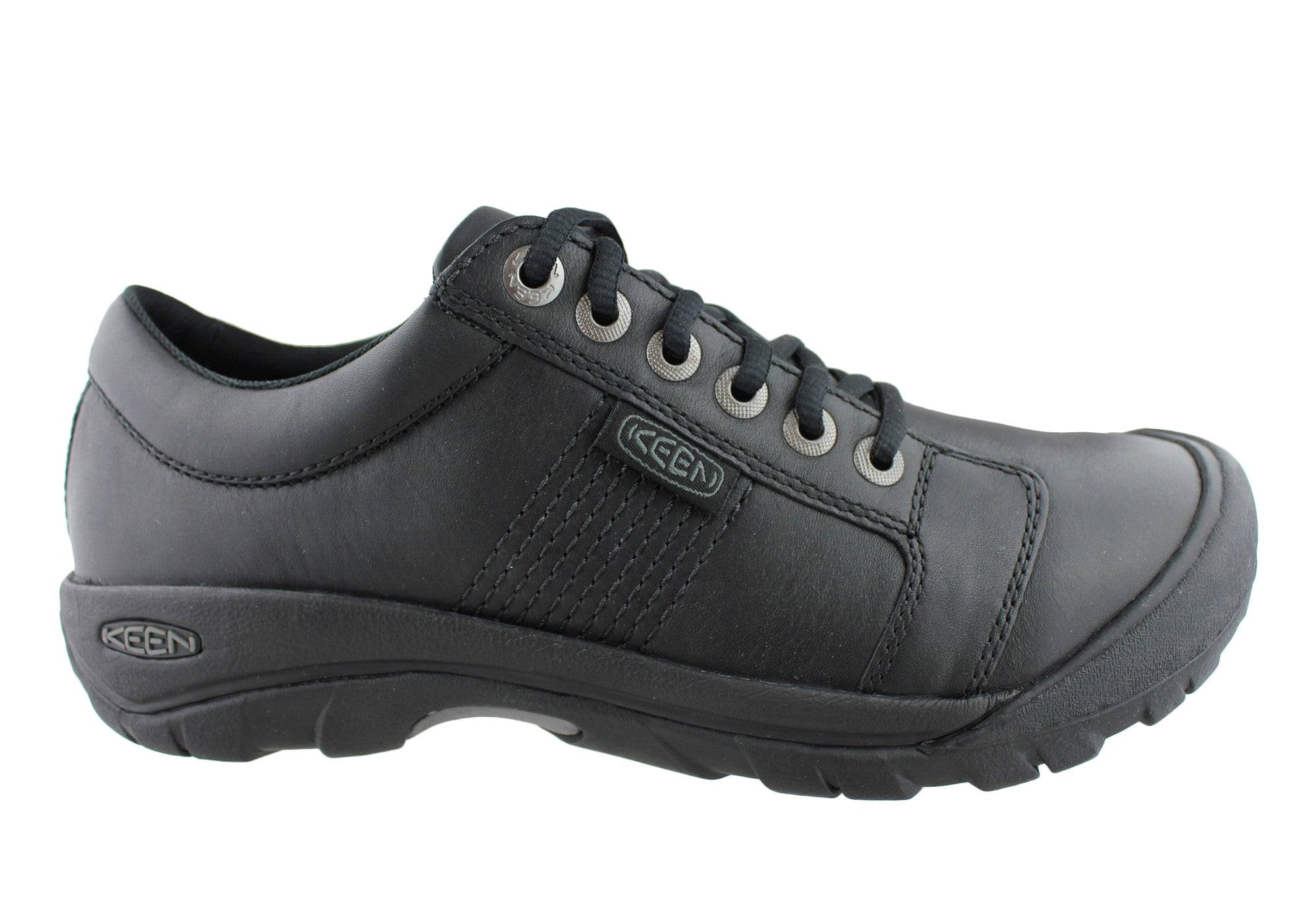 Keen Keen Keen Austin Uomo Pelle Wide Fit Casual Shoes dd6076