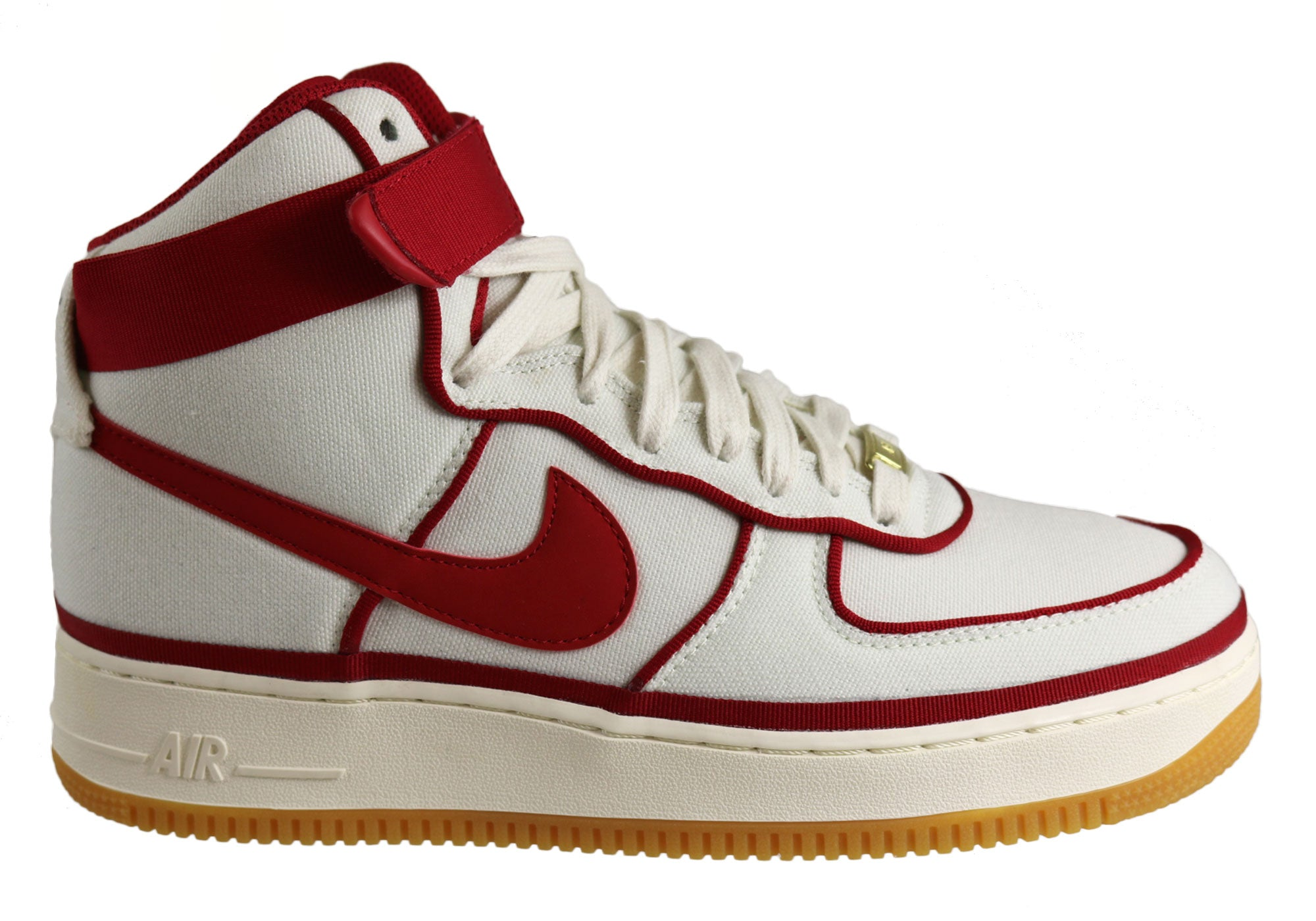 Air Force 1 Mid Men White Red Nike Air Force 1S High Tops