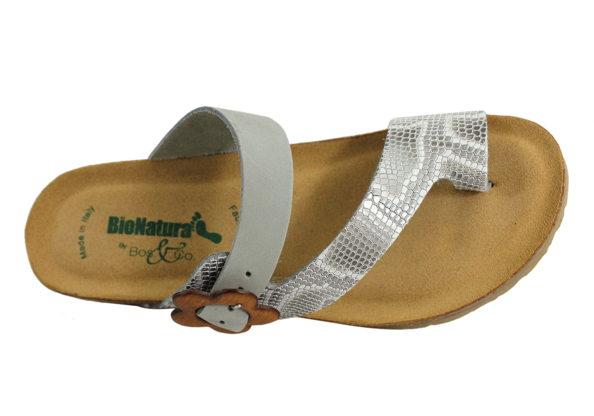 dc62199b5457 BioNatura Buster Womens Leather Comfort Sandals Made in Italy ...