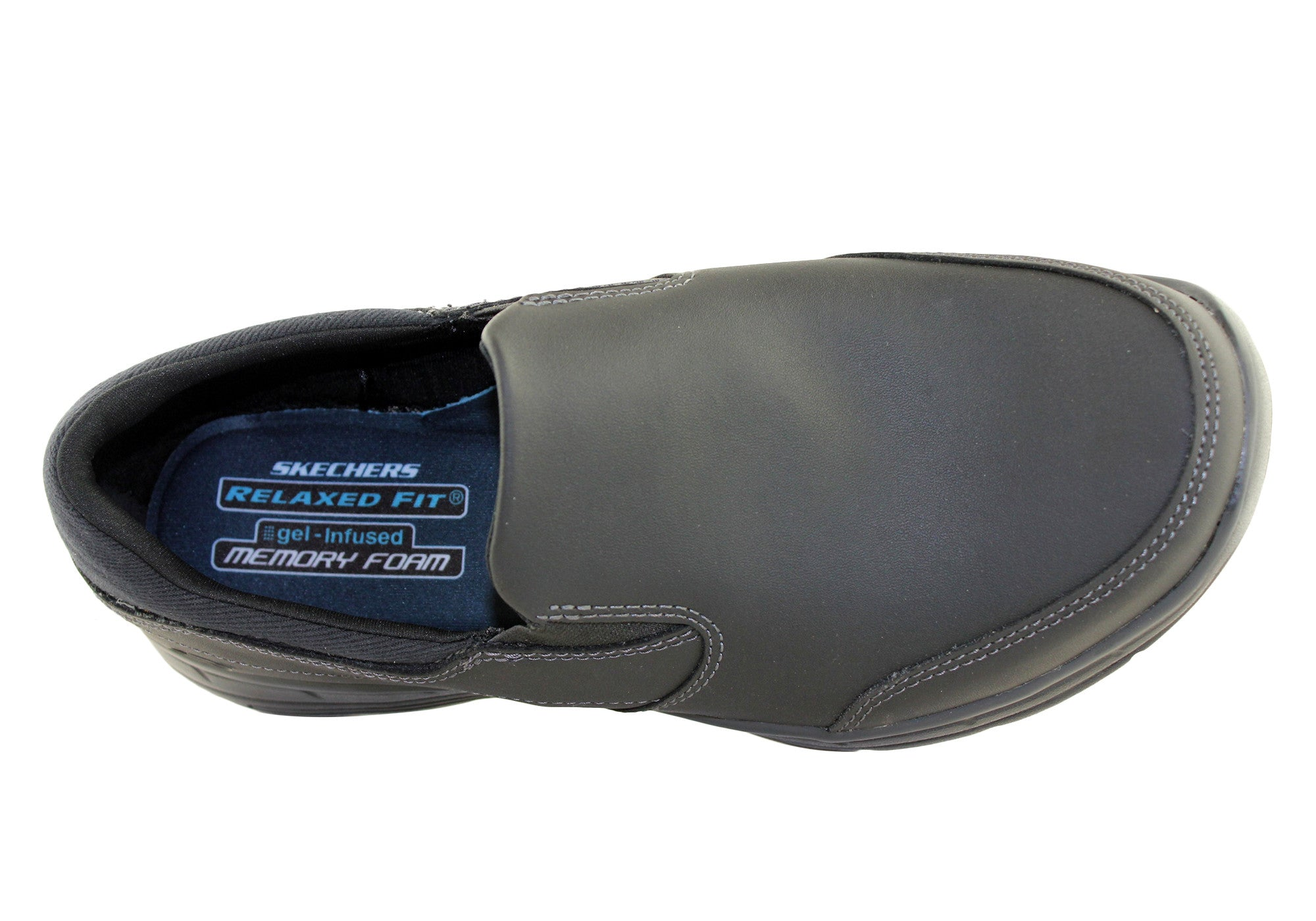 Skechers Mens Glides Calculous Relaxed Fit Shoes