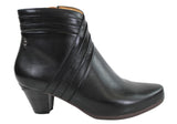 Pikolinos Lillie Womens Leather Low Heel Ankle Boots
