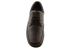Hush Puppies Direct Mens Leather Lace Up Shoes