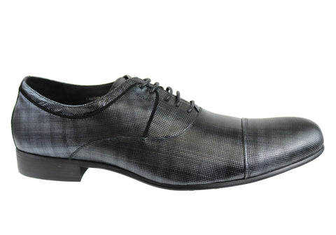 Knight Troop Mens Leather Lace Up Dress Shoes