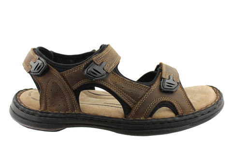 Hush Puppies Blitz Mens Leather Sandals