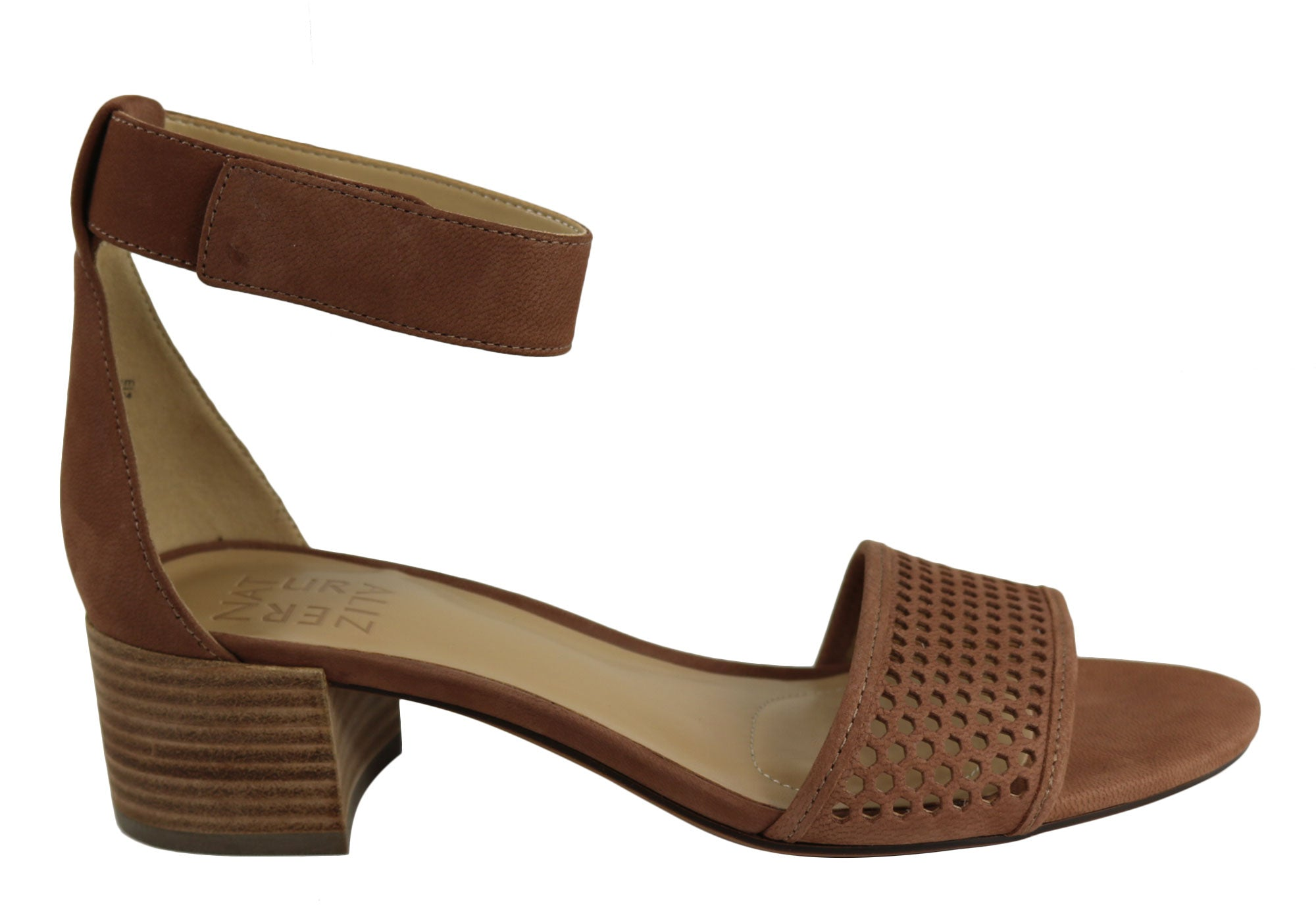 7acaf84fdf85 Home Naturalizer Faith Womens Comfort Wide Fit Leather Low Heel Sandals.  Tan ...