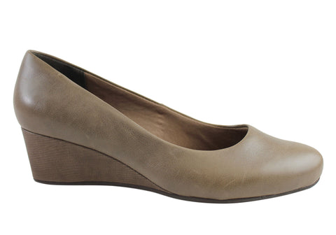 Rockport TM45MW Womens Leather Comfortable Plain Pump
